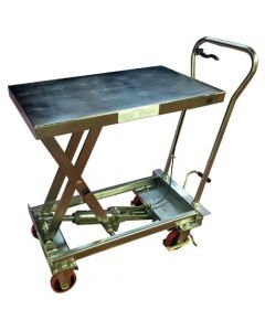 CLEARANCE - BSS20 - Stainless Steel Mobile Lift Table 200kg